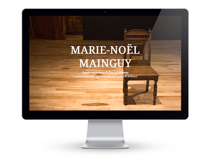 Marie-Noël Mainguy page accueil